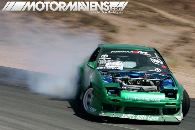 JTP FC3S RX7 Justin Pawlak Just Drift All Star Bash drifting festival