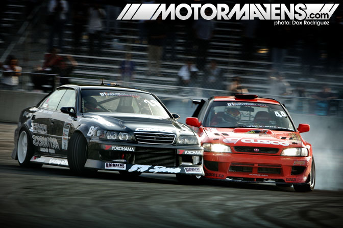 Daigo Saito JZX100 Toyota Chaser D1GP Champion Formula Drift Bridges Racing