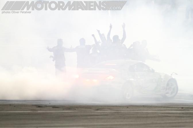 Ken Block Gymkhana Grid Invitational MotorMavens Mass Appeal Oliver Petalver Irwindale Speedway Abbrings Kevin 350Z