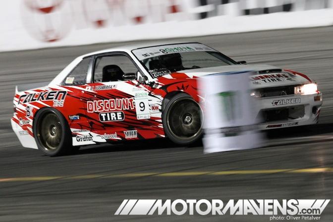Ken Block Gymkhana Grid Invitational MotorMavens Mass Appeal Oliver Petalver Irwindale Speedway Daijiro Yoshihara