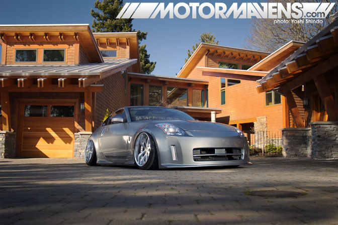 Ryan Lee Nissan 350z Z33 Nismo Accuair Garage Autohero CakeFace Clothing Yoshi Shindo