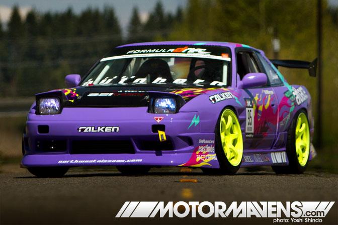 Walker Wilkerson S13 Onevia Garage Autohero Formula D Yoshi Shindo