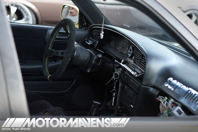Serial Nine Toyota Cressida 2JZGTE Kevin Petersen Gerard de Peralta Yoshi Shindo