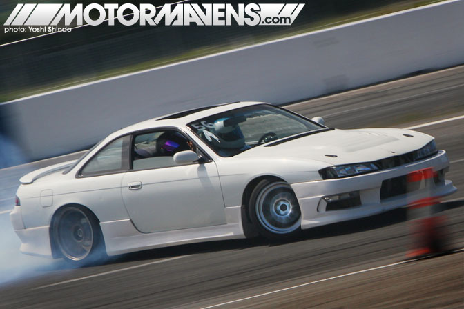 Evergreen Drift Pro Am Evergreen Speedway Joe Iglesias Nissan 240sx S14 Yoshi Shindo Formula D Seattle Formula Drift
