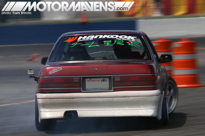 Evergreen Drift Pro Am Evergreen Speedway Galen Callahan Toyota Cressida Yoshi Shindo Formula D Seattle Formula Drift