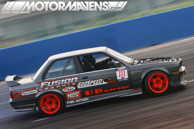 Evergreen Drift Pro Am Evergreen Speedway Erich Haggen E30 BMW Yoshi Shindo Formula D Seattle Formula Drift