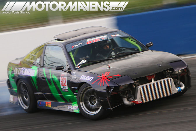 Evergreen Drift Pro Am Evergreen Speedway Peter Funatake RPS13 Yoshi Shindo Formula D Seattle Formula Drift