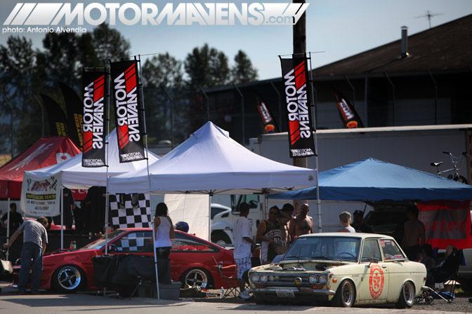 Formula D Round 4 Seattle MotorMavens Garage Autohero booth