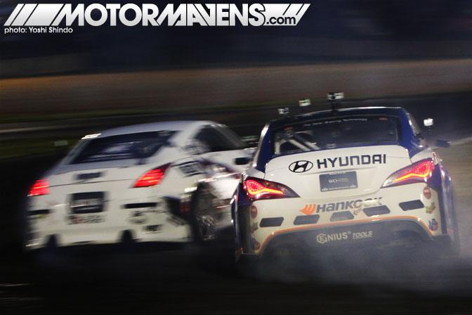 Rhys Millen Hyundai Genesis Coupe Road Atlanta Formula Drift Round 2