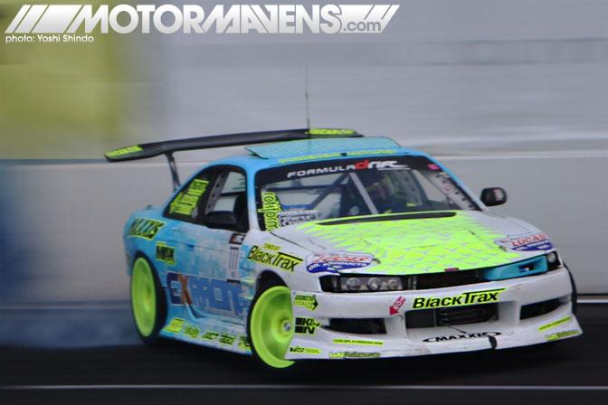 Formula D Seattle Monroe Washington Evergreen Speedway Matt Field Nissan S14 CX Racing Yoshi Shindo