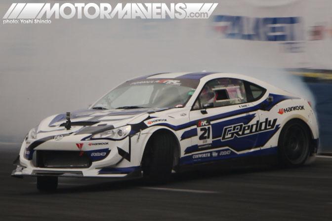 Formula D Seattle Monroe Washington Evergreen Speedway Ken Gushi Greddy Scion FR-S Yoshi Shindo