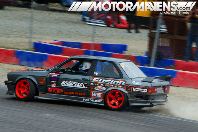 XDC Seattle Pacific Grand Prix Erich Hagen BMW E30 Yoshi Shindo