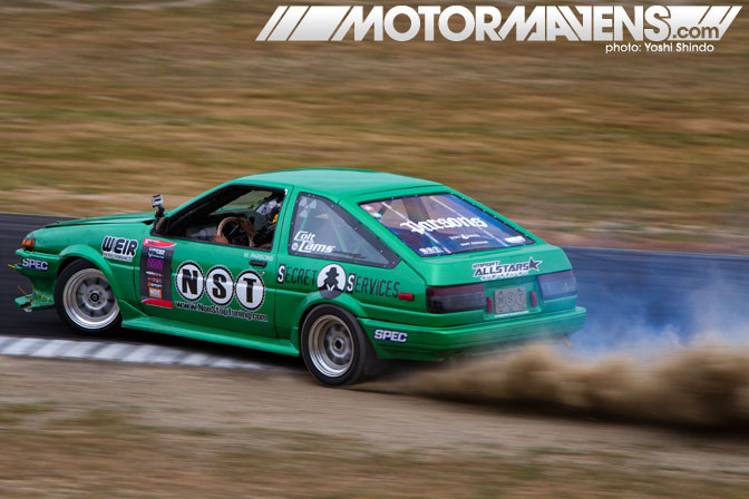 XDC Seattle Pacific Grand Prix NST Toyota Corolla Yoshi Shindo
