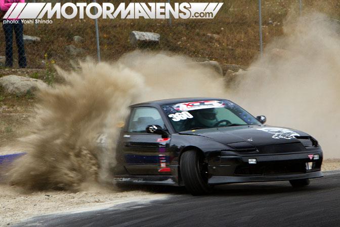 XDC Seattle Pacific Grand Prix Nissan Silvia S13 Victor Moore Yoshi Shindo