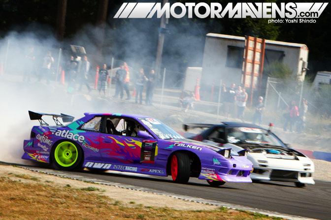 XDC Seattle Pacific Grand Prix Walker Wilkerson Nissan Silvia S13 Onevia Yoshi Shindo