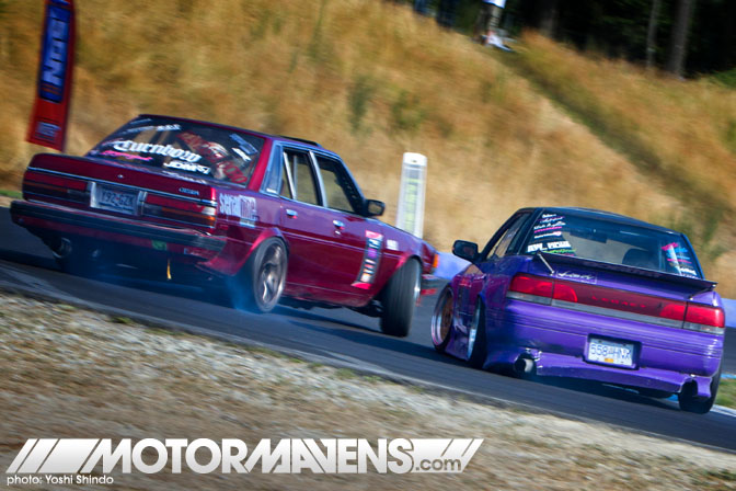 XDC Seattle Pacific Grand Prix Drift Union Serial Nine Cressida Subaru Legacy Toyota  Yoshi Shindo