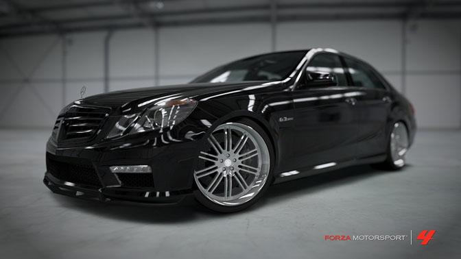 Mercedes Benz E63 AMG Forza Motorsport 4 Turn 10 Microsoft Xbox 360 Yoshi Shindo